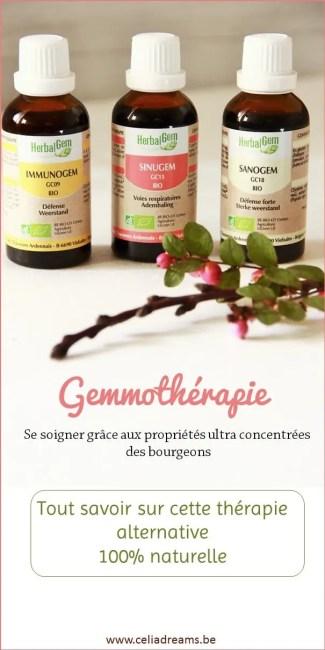 Tout savoir sur la gemothérapie: une thérapie alternative naturelle à base de bourgeons.