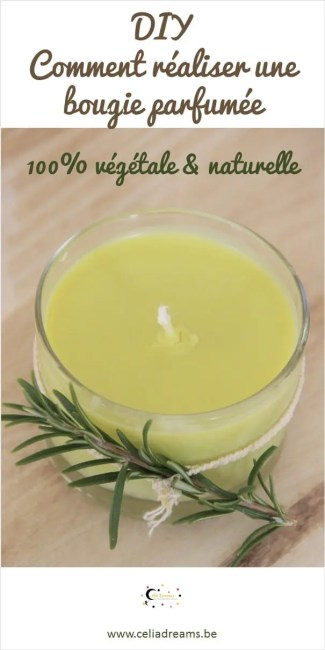 Apprenez comment réaliser une bougie parfumée naturelle et végétale (DIY facile et rapide)