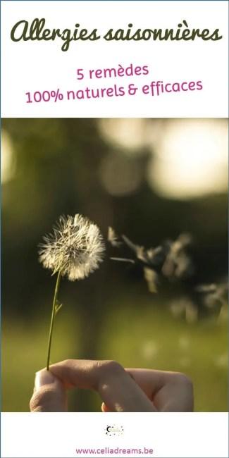 Comment soigner les allergies: 5 remèdes naturels efficaces