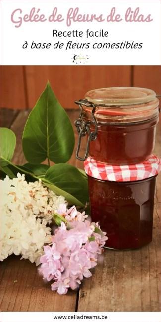 Recette de gelée de fleurs de lilas - une recette à base de fleurs comestibles