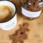 Biscuits en bonhomme de pain d'épice -une recette cétogène