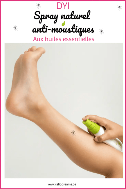 Lutter efficacement et naturellement contre les moustiques: recette de spray anti-moustiques