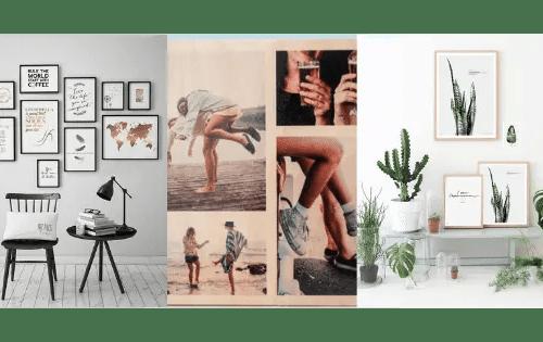 Décoration murale minimaliste: comment aménager un mur avec des cadres photos?