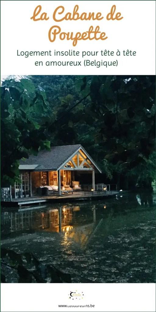 La cabane de Poupette, logement magique pour weekend romantique