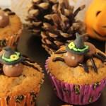 Cupcakes d'halloween aux araignées Maltesers: recette facile et rapide