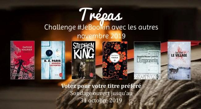 Challenge JeBookin avec les autres novembre 2019
