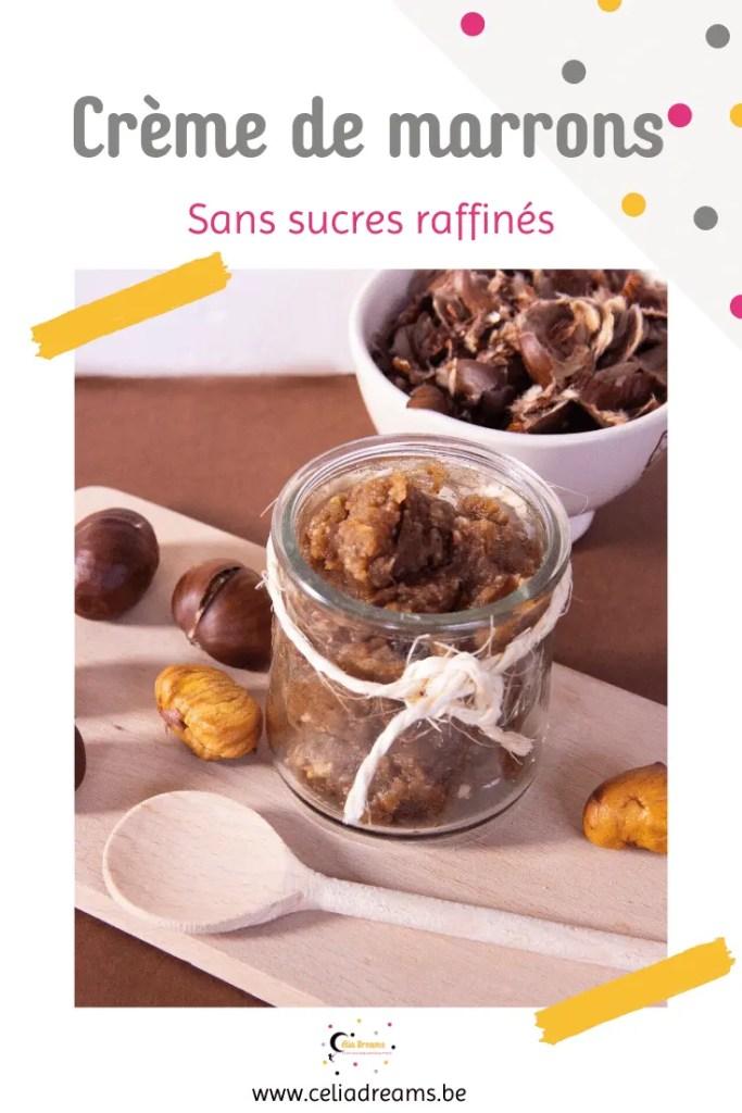 Crème de marrons sans sucres raffinés: une recette ultra facile et rapide. Idéale comme collation sur des pancakes, yaourt ou crêpes ou comme base pour un dessert.