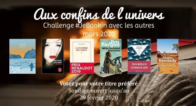 Challenge #JeBookin avec les autres #20 (mars 2020)