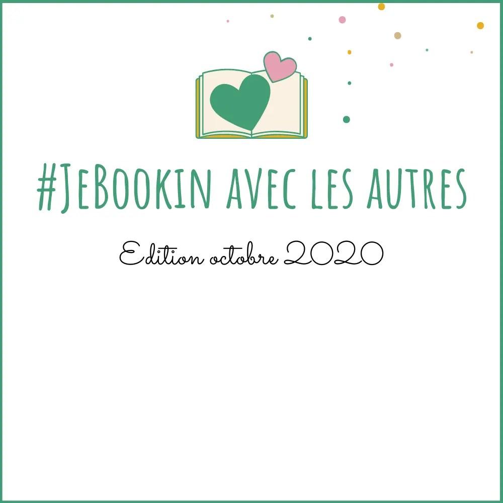 Challenge #JeBookin avec les autresoctobre 2020 - la sélection de livres
