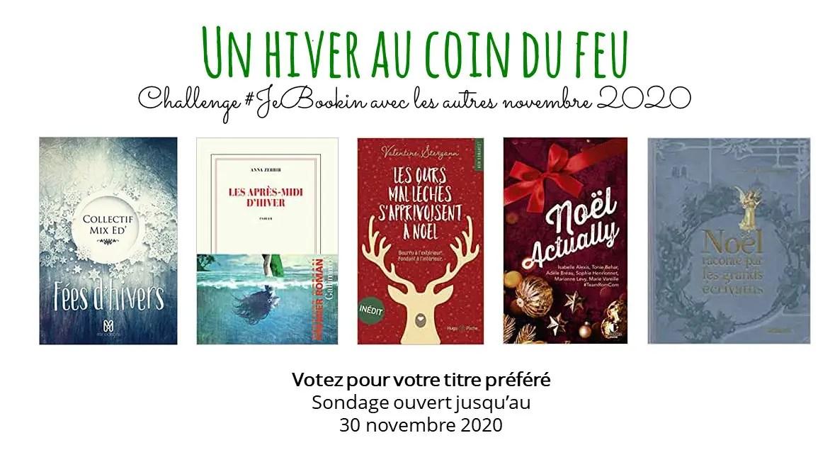 Club de lecture #JeBookin - challenge décembre 2020