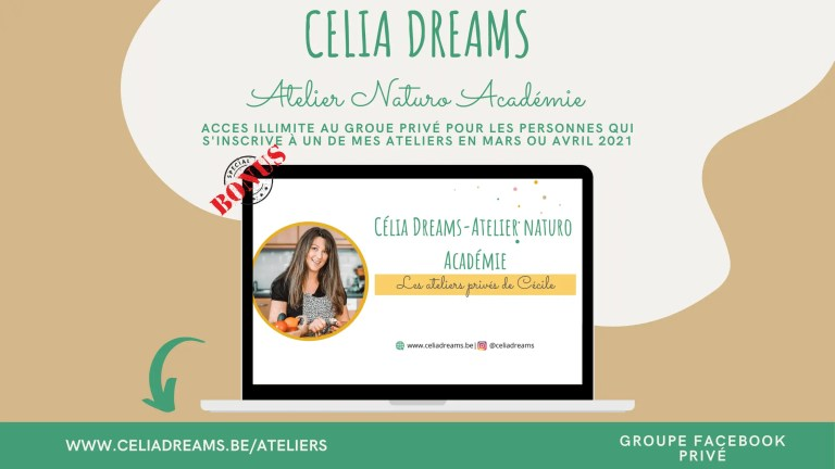 Banner Célia Dreams - Atelier Naturo Académie