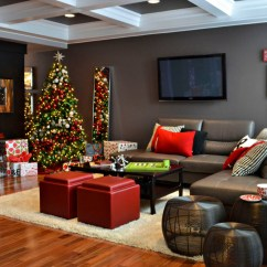 Images Of Christmas Living Room Decorations Sets Big Lots How To Decorate For The Holidays When Your Home Is Sale Celia