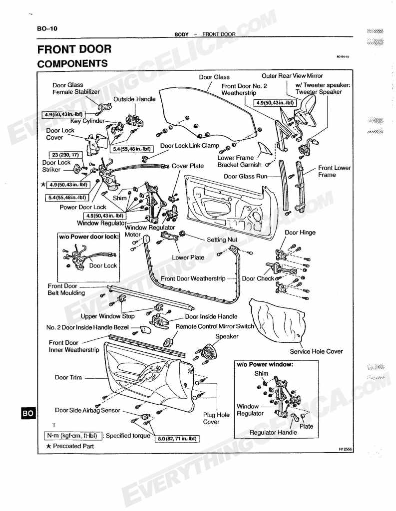 International Door Latch Diagram, International, Free