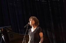 Céline Caussimon en concert a Amou