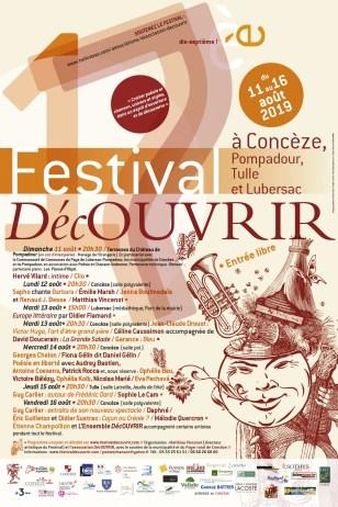 programmation festival 19