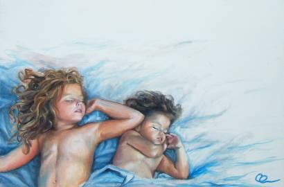 los angeles cuando duerman 40x60 oleo-2013