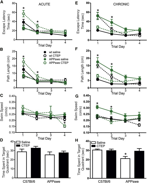 Chronic Pharmacological mGluR5 Inhibition Prevents