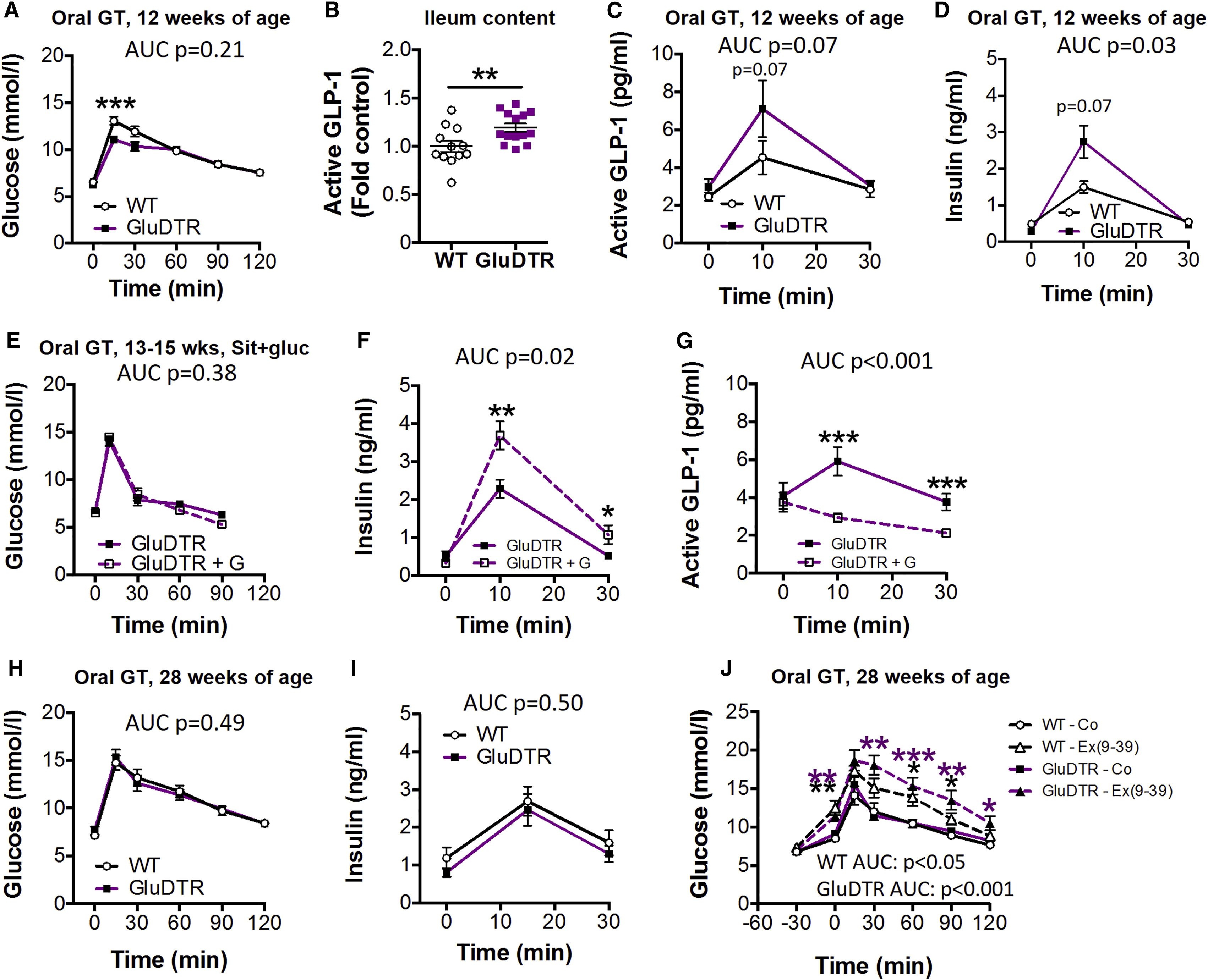Pancreatic Cell Derived Glucagon Related Peptides Are