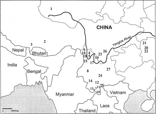 Analyses of Genetic Structure of Tibeto-Burman Populations