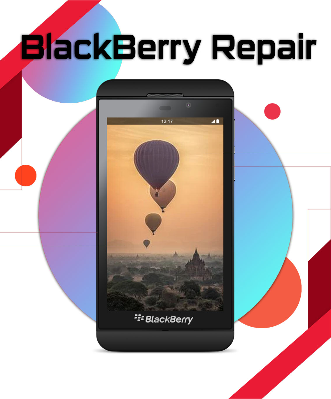 Blackberry Cell Phone Repair in Vancouver