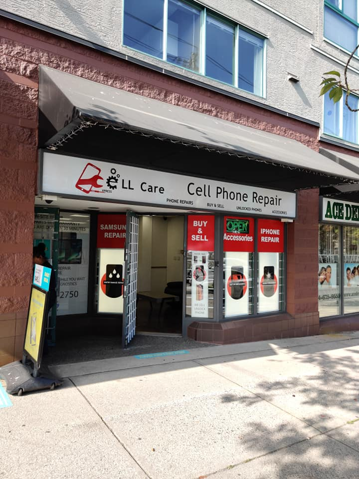 Cell Care Phone Repair, 3187 Main St, Vancouver