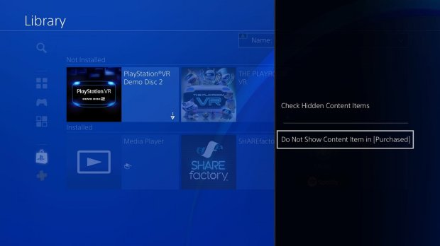 Upcoming PS4 update includes custom wallpapers, parental controls, and more screenshot