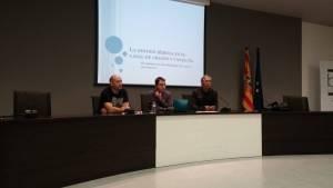 Presentación de la conferencia «El antes y el después de San Salvador. La gestión del agua»