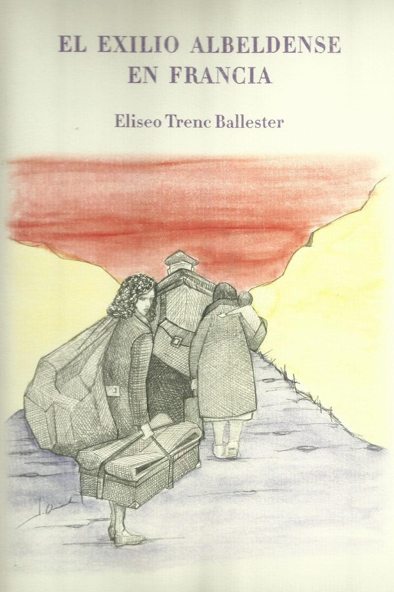 Primera de cubierta del libro 'El exilio albeldense en Francia'
