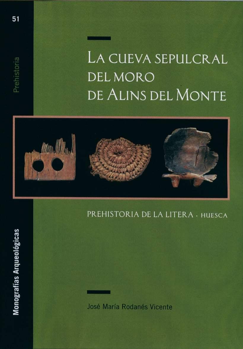 Primera de cubierta del libro 'La cueva sepulcral del moro de Alins del Monte'
