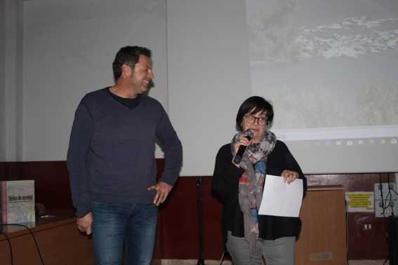 Presentación del acto 'Dicen que hay tierras al Este' en Tamarite de Litera (foto Imma Gracia / La Litera información)