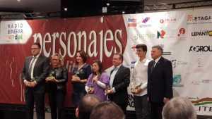 Los galardonados de esta edición (foto Paco Murillo)