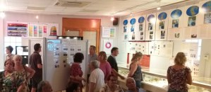 Exposición 'El mar que bañó nuestras tierras' en Alcampell (1) (foto Pep Espluga)