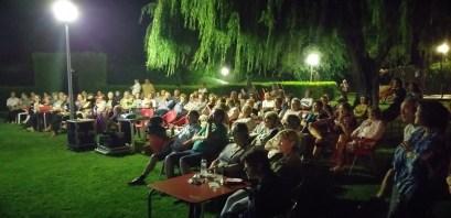 Público en la conferencia «El consultorio de Elena Francis en la Litera» en Alcampell (foto Pep Espluga)