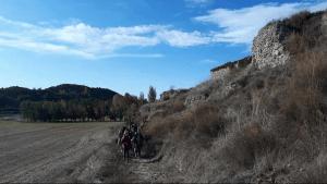 Siguiendo una de las rutas