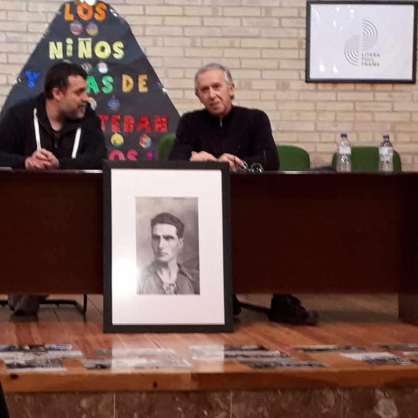 Presentación de la exposición 'Jaime Pla, un literano corresponsal en la guerra de Marruecos' en San Esteban de Litera (foto Paco Murillo)