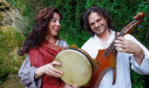 L'Incantari. Arturo Palomares y Lucía Samitier