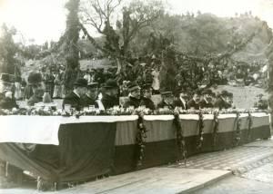 Inauguración del Canal de Aragón y Cataluña