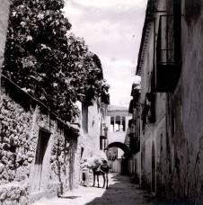 Baldellou, 1957: descargando (foto José María Canes Cuyás, fondo CELLIT, cedida a Fototeca de Huesca)