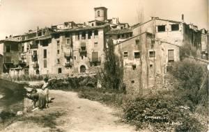 Camporrells, hacia 1950: la Roda (postal sin autor, fondo CELLIT)