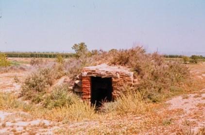 <i>Volta</i> de la finca del Muntañés (actualmente Torre Cagigós), en Altorricón; hoy desaparecida (foto Juan Rovira)