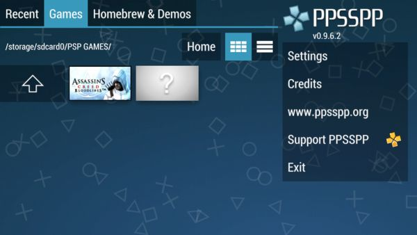play PSP games on Android 3