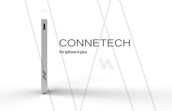 Connetech iPhone 6 Plus Projector keyboard case  (1)