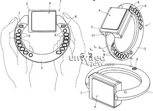 Sony Ericsson Bracelet Phone design gets discovered