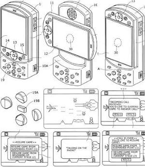 Sony Ericsson Files PSP Phone Design Patent
