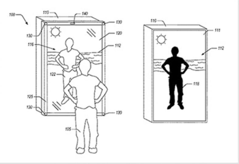 Amazon: uno specchio smart per i camerini del futuro
