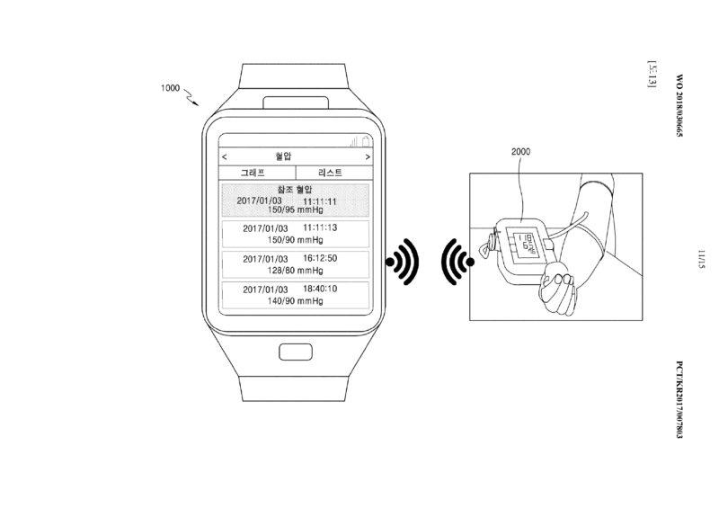 Samsung: brevetto per la rilevazione della pressione