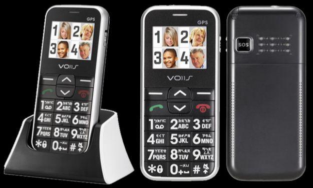 un cellulare con numeri grandi