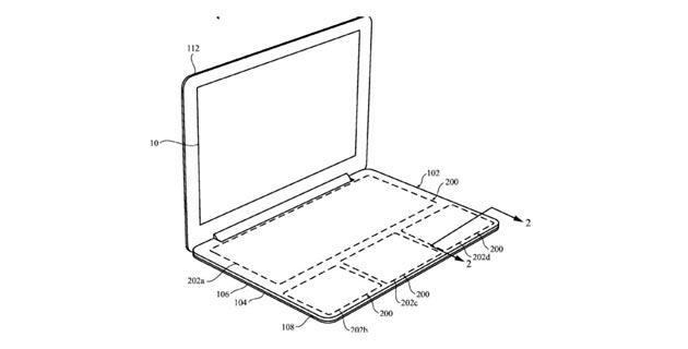 Apple brevetta tastiera touch programmabile per MacBook