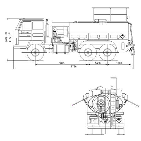 Us Fuel Tanker Truck Dimensions Pictures to Pin on