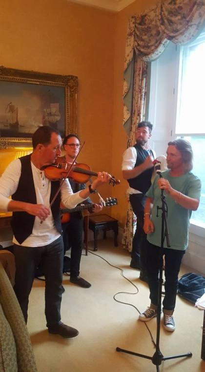 Reel Strings Performing at Irish Embassy